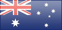 Fahne von Australien