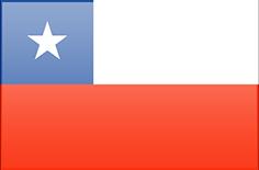 Fahne von Chile