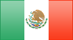 Fahne von Mexiko