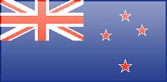 Fahne von Neuseeland