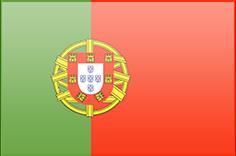 Fahne von Portugal