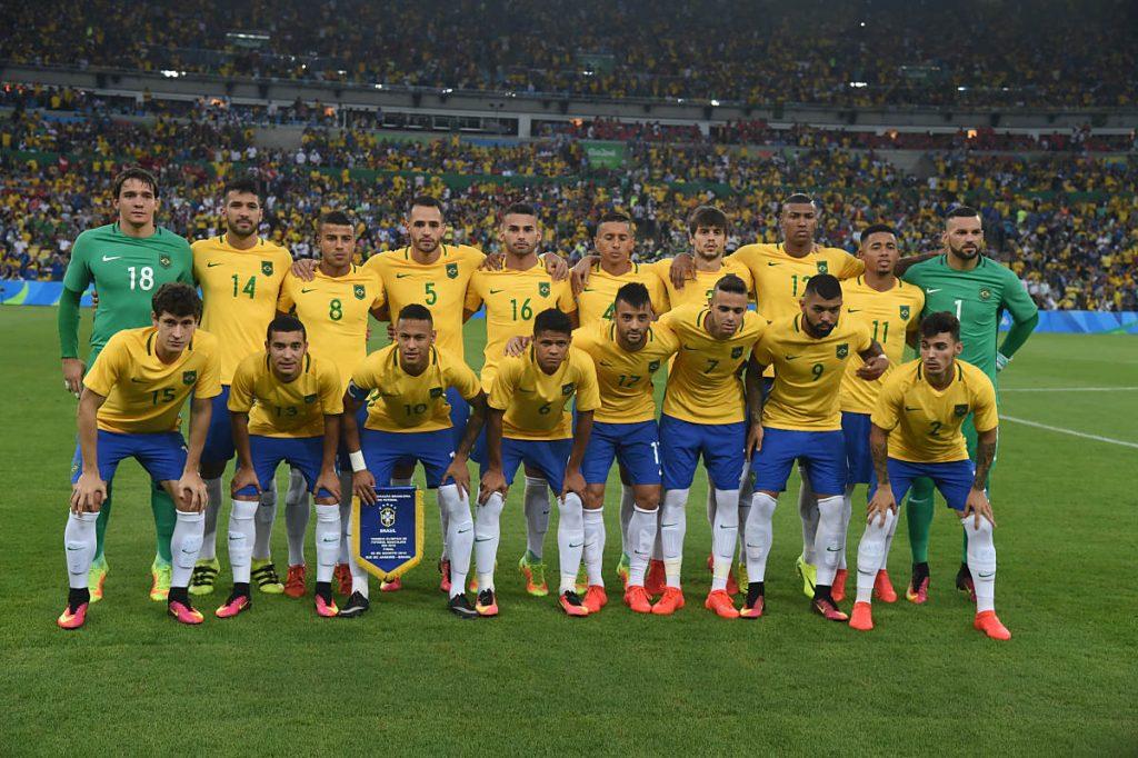 Der brasilianische Kader bei Olympia 2016 - fahren die Jungs auch zur WM 2018? (Foto Shutterstock)