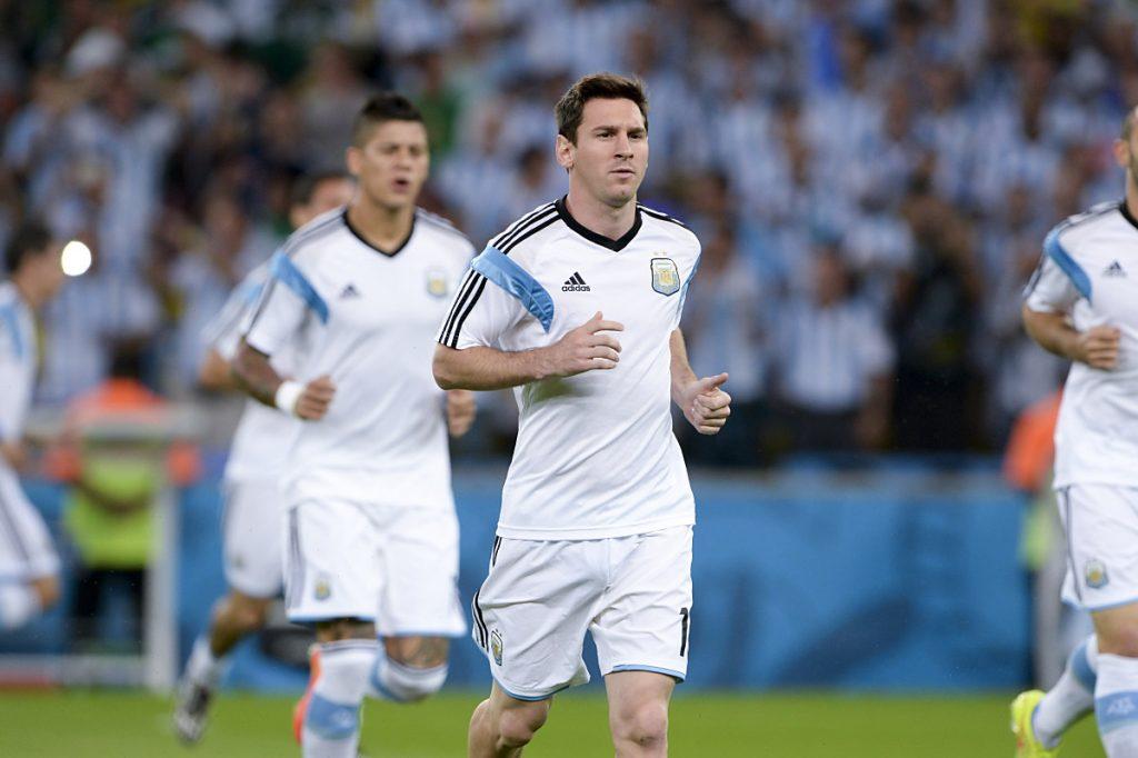 Leoni Messi aus Argentinien hofft auf eine WM-Teilnahme 2018 (Foto Shutterstock)