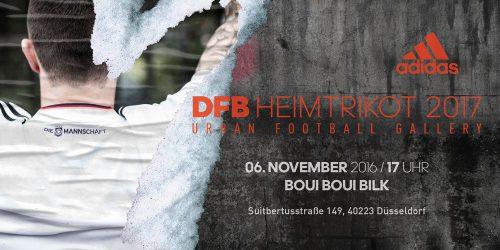 Heimtrikot 2016 - Einladung von adidas