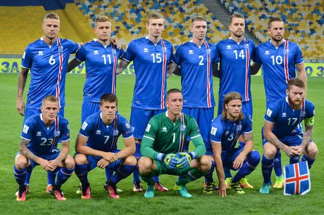 Isländische Nationalmannschaft