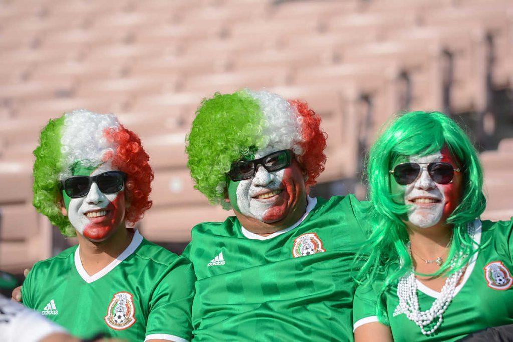 Fußballfans von Mexiko (betto rodrigues / Shutterstock.com)