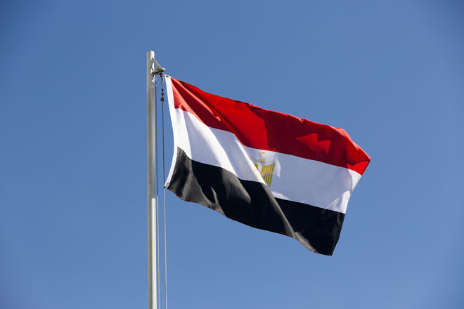 Die Ägyptische Flagge (kb-photodesign/Shutterstock)
