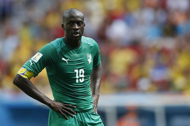 Yaya Toure bei der WM 2014 für die Elfenbeinküste (AGIF / Shutterstock.com)