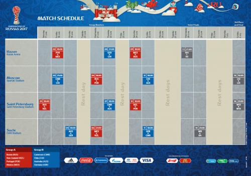 Confed Cup Spielplan als pdf zum Download