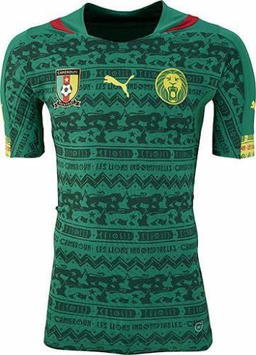 Das Heimtrikot von Kamerun von Puma zur WM 2014!