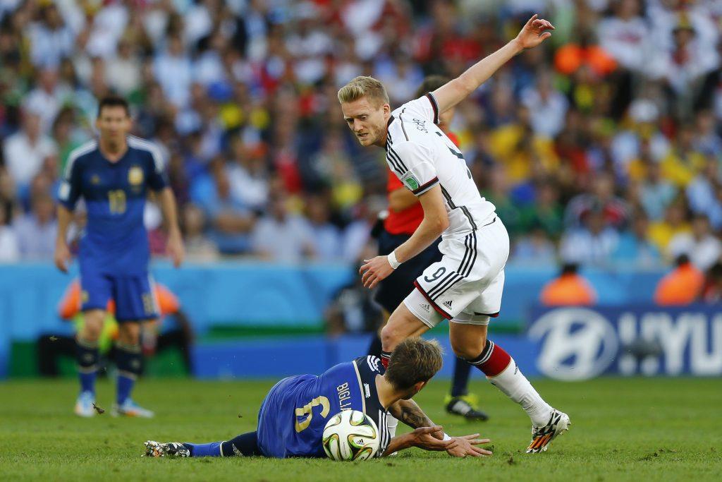 André Schürrle ist der Matchwinner beim Länderspiel gegen Aserbaidschan. (Foto Shutterstock)