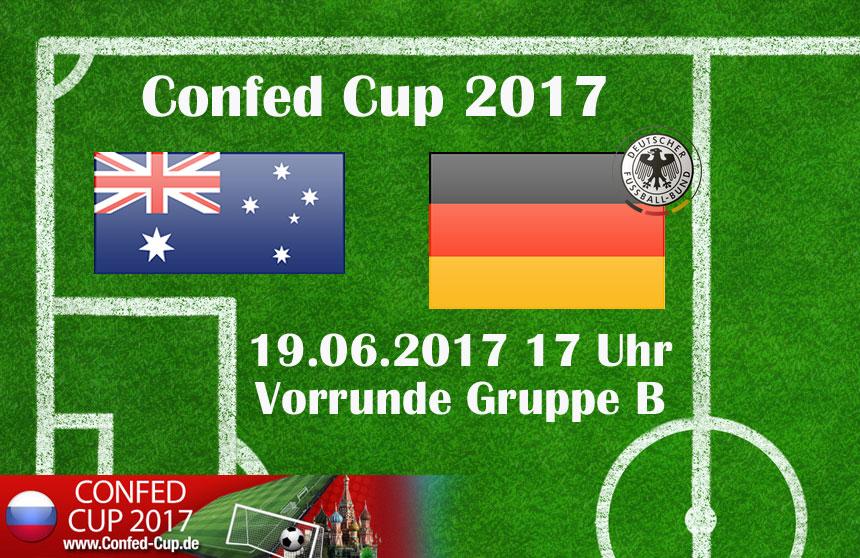 Länderspiel Deutschland gegen Australien: Im ersten Spiel der Gruppe B trifft Weltmeister Deutschland am 19. Juni auf Asienmeister Australien.