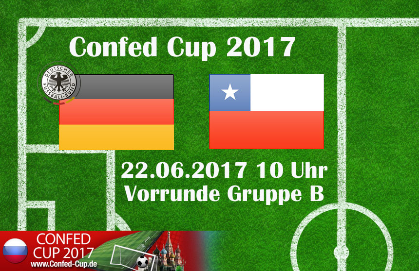 Deutschland gegen Chile - Im Spitzenspiel der Gruppe B trifft Weltmeister Deutschland am 22. Juni auf Südamerikameister Chile.