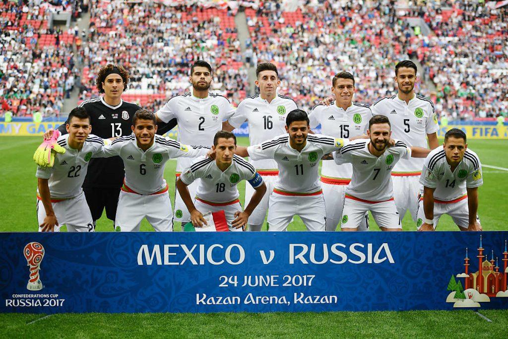 Mexiko in der Vorrunde des Confed Cups 2017 (Foto AFP)