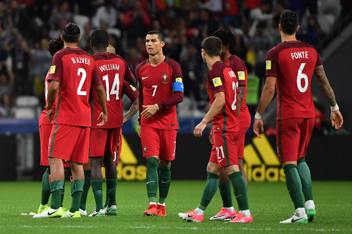 Portugal Beim Confed Cup 2017