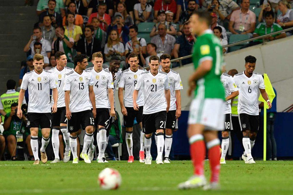 Deutschland gewinnt mit 4:1 gegen Mexiko - Finale! (Foto AFP)